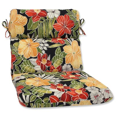 Clemens Noir Outdoor Chaise Lounge Cushion