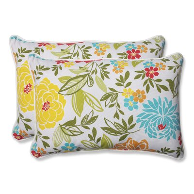 Spring Bling Indoor/Outdoor Lumbar Pillow Size: 16.5 H x 24.5 W x 5 D