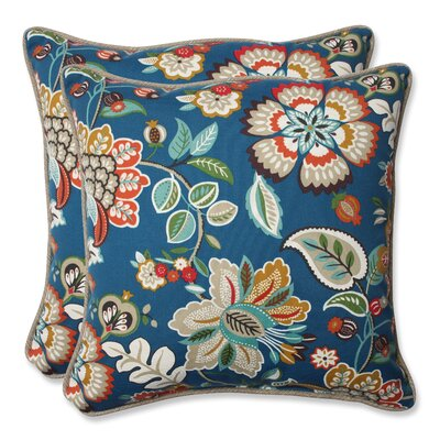 Telfair Peacock Indoor/Outdoor Throw Pillow