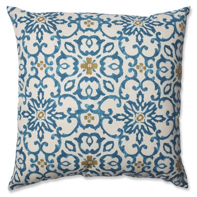 Souvenir Scroll Cotton Throw Pillow Size: Medium