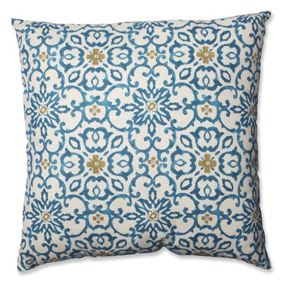 Souvenir Scroll Cotton Throw Pillow Size: Large