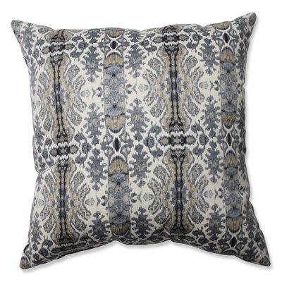 Rue Cotton Throw Pillow Color: Silver Cloud