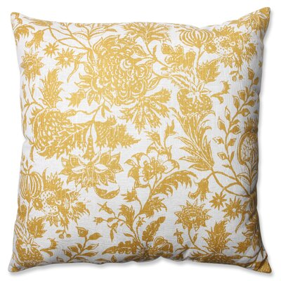 Ananya Cotton Floor Pillow Color: Yellow