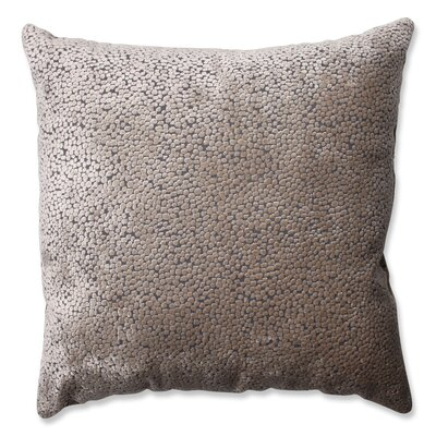 Tuscany Dots Flax Cut Throw Pillow Size: 18 H x 18 W x 5 D
