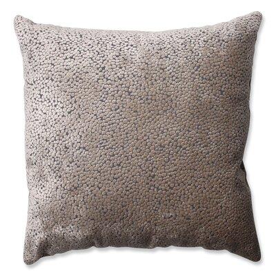 Tuscany Dots Flax Cut Throw Pillow Size: 18 H x 18 W x 5 D
