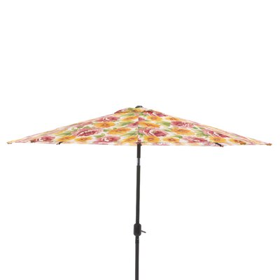 9 Market Umbrella Fabric: Primro Orange