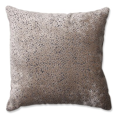 Tuscany Dots Flax Cut Throw Pillow Size: 16.5 H x 16.5 W x 5 D