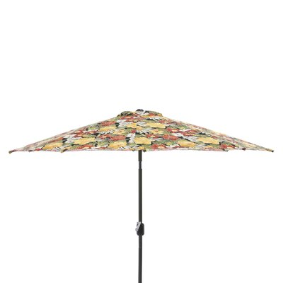 9 Market Umbrella Fabric: Clemens Noir