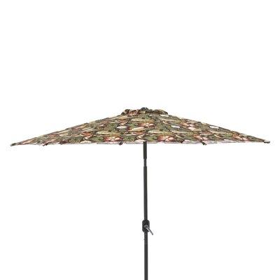 9 Market Umbrella Fabric: Coventry Brown