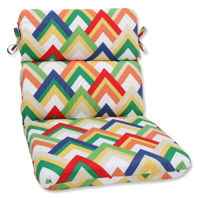 Outdoor Lounge Chair Cushion Fabric: Resort Garden
