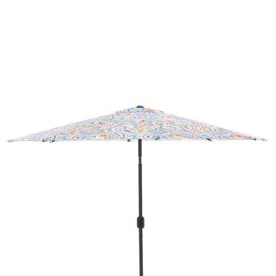 9 Market Umbrella Fabric: Ummi Multi