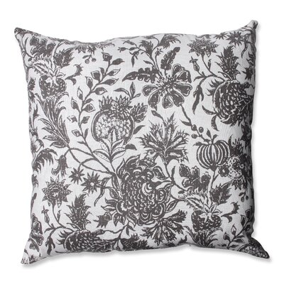 Ananya Cotton Floor Pillow Color: Charcoal