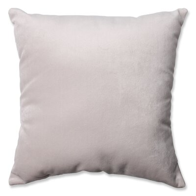 Belvedere Throw Pillow Size: 18 H x 18 W x 5 D, Color: Driftwood