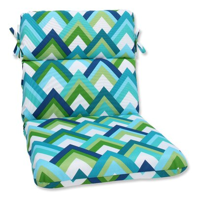 Outdoor Lounge Chair Cushion Fabric: Resort Peacock