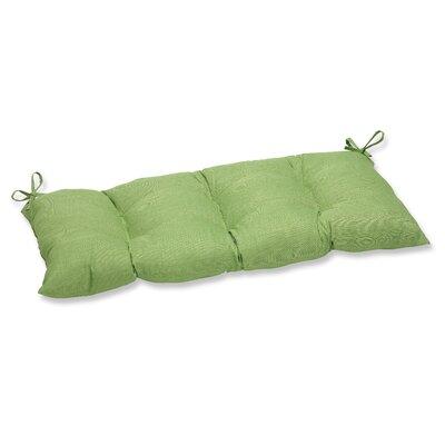 Outdoor Loveseat Cushion Fabric: Crisp Green