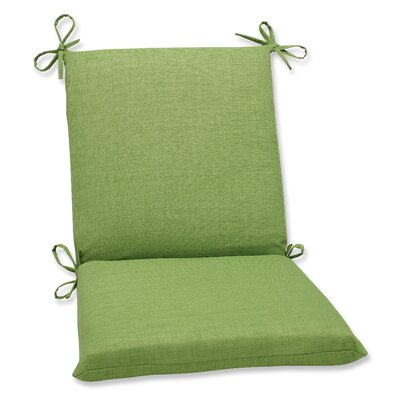 Outdoor Lounge Chair Cushion Fabric: Crisp Green