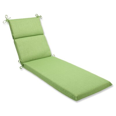 Outdoor Chaise Lounge Cushion Fabric: Crisp Green