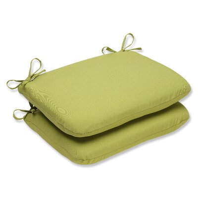 Outdoor Dining Chair Cushion Fabric: Fresco Green