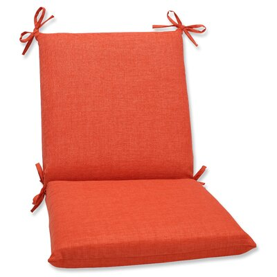 Outdoor Lounge Chair Cushion Fabric: Coral
