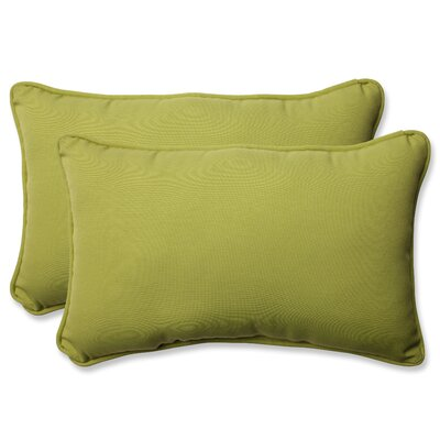 Fresco Pear Indoor/Outdoor Throw Pillow Size: 11.5 H X 18.5 W X 5 D