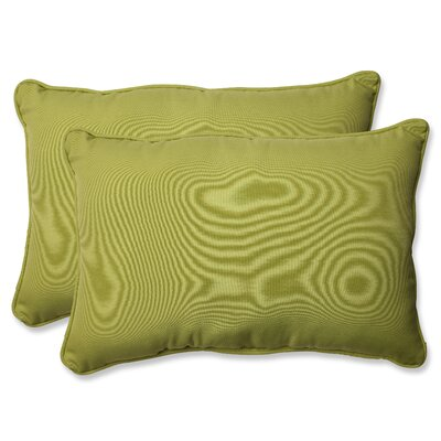Fresco Pear Indoor/Outdoor Throw Pillow Size: 16.5 H X 24.5 W X 5 D
