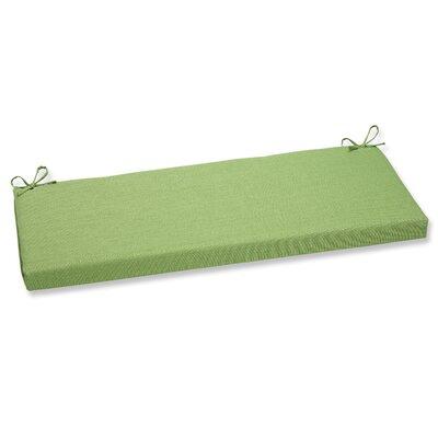 Outdoor Bench Cushion Fabric: Crisp Green