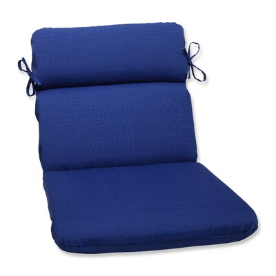 Fresco Outdoor Chair Cushion Color: Navy Blue