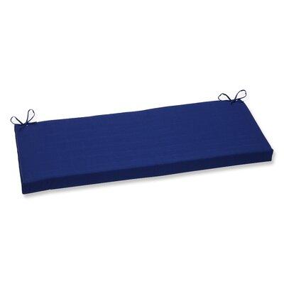 Fresco Outdoor Bench Cushion Color: Navy