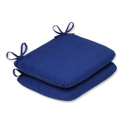 Fresco Outdoor Seat Cushion Color: Navy