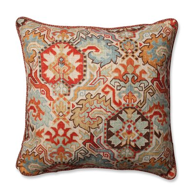 Madrid Throw Pillow Color: Persian