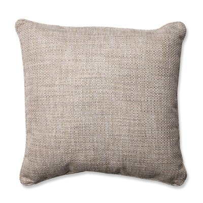 Schaumburg Throw Pillow Color: Mica