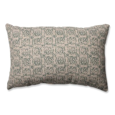 Castille Throw Pillow Color: Seagrass