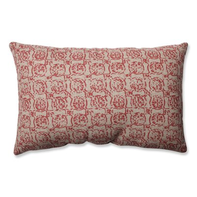Castille Throw Pillow Color: Salmon