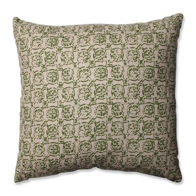 Castille Throw Pillow Size: 16.5 H x 16.5 W x 5 D, Color: Olive