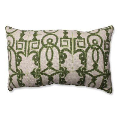 Seville Cotton Throw Pillow Color: Olive