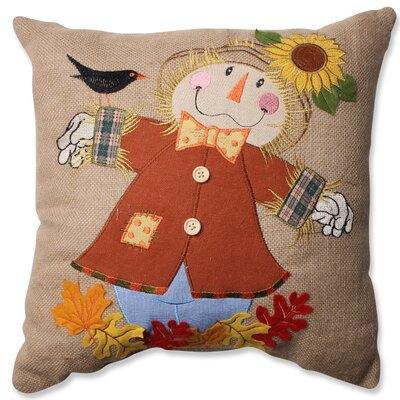 Harvest Scarecrow Throw Pillow