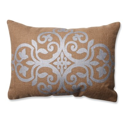Geometric Jute Throw Pillow