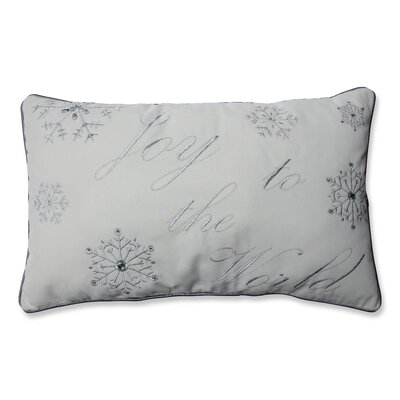 Joy to the World Lumbar Pillow