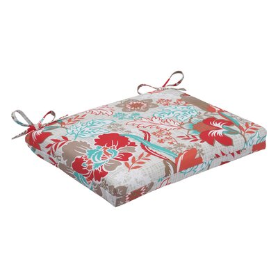 Suzanne Outdoor Dining Chair Cushion Fabric: Spring