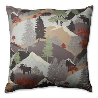 Happy Camper Heather Cotton Throw Pillow Size: 24.5