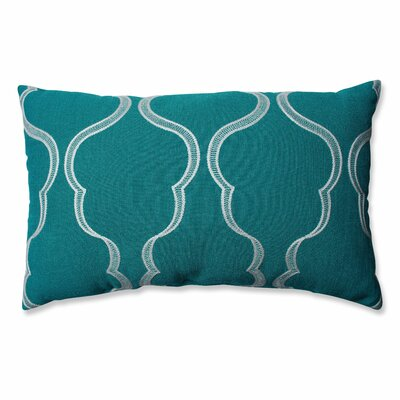 Cassie Aqua Lumbar Pillow