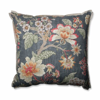 Room With A View Haze Cotton Throw Pillow Size: 24.5