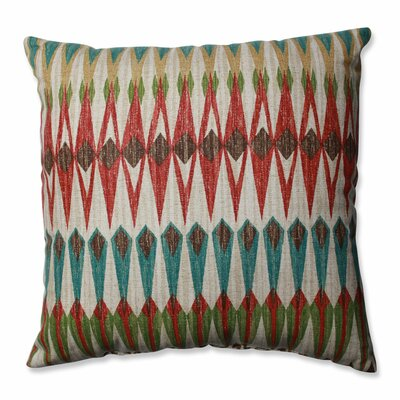 Acela Adobe Cotton Throw Pillow Size: 16.5