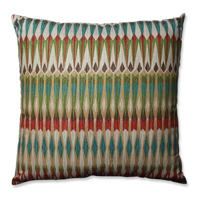Acela Adobe Cotton Throw Pillow Size: 24.5