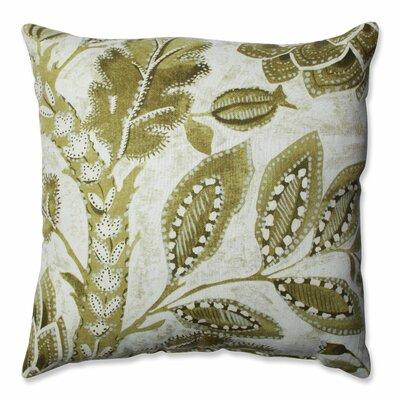 Java Tree Moss Cotton Throw Pillow Size: 16.5