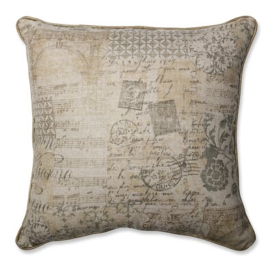 Documented Vermeil Throw Pillow Size: 18