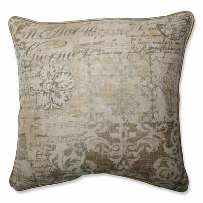 Documented Vermeil Throw Pillow Size: 16.5