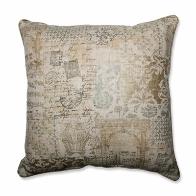 Documented Vermeil Throw Pillow Size: 25