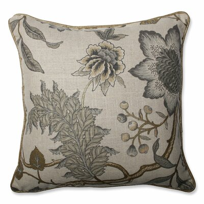 Jacobean Flair Vermeil Throw Pillow Size: 16.5