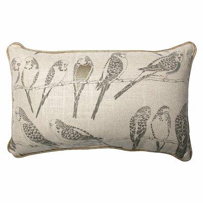 Retweet Vermeil Throw Pillow